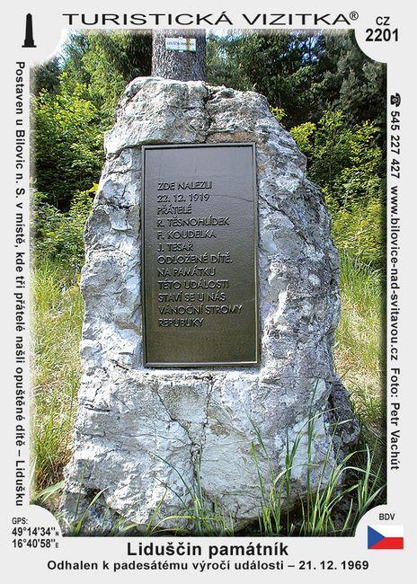 Liduščin památník