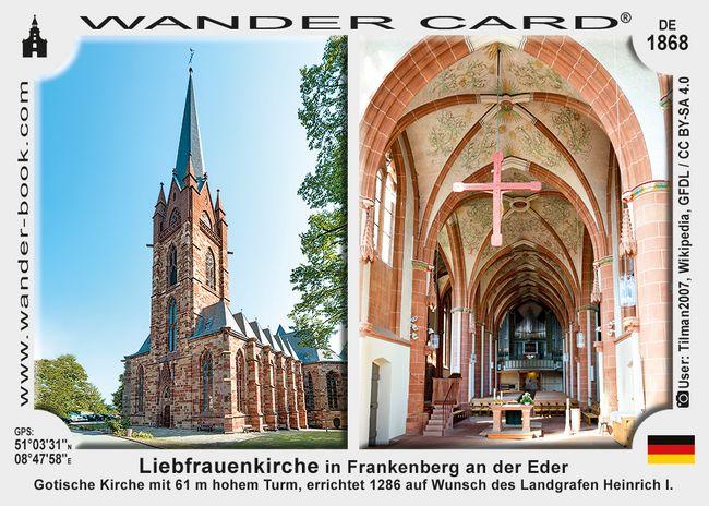 Liebfrauenkirche in Frankenberg an der Eder