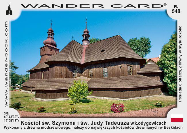 Lodygowice kościół drewniany
