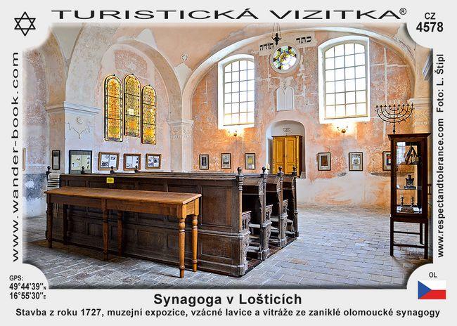 Loštice synagoga