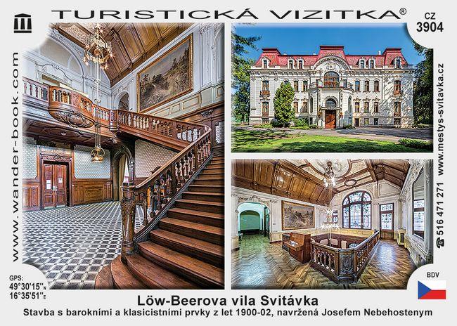 Löw-Beerova vila Svitávka