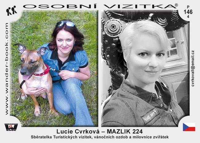Lucie Cvrková – MAZLIK 224