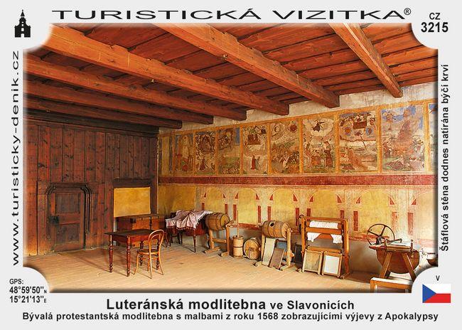 Luteránská modlitebna ve Slavonicích
