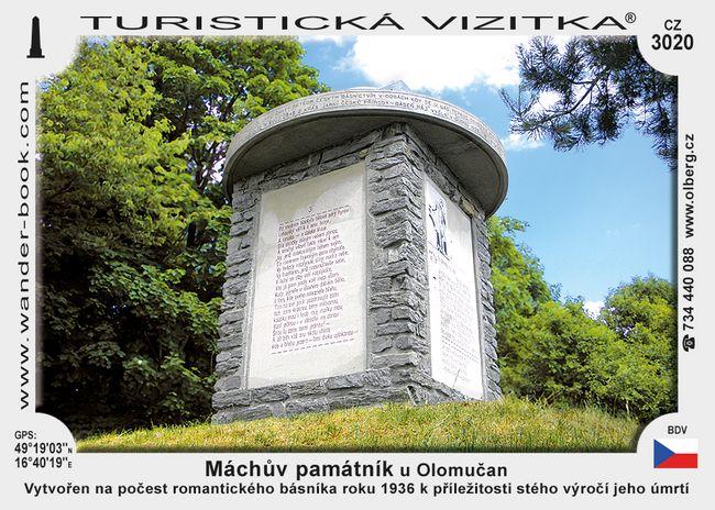 Máchův památník u Olomučan