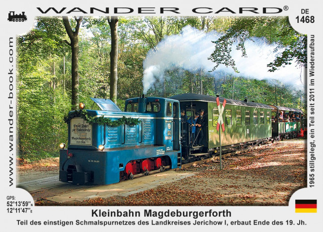 Kleinbahn Magdeburgerforth