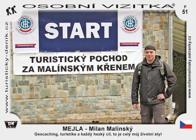 Malinský Milan - Mejla