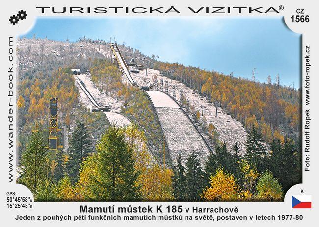 Mamutí můstek K 185 v Harrachově