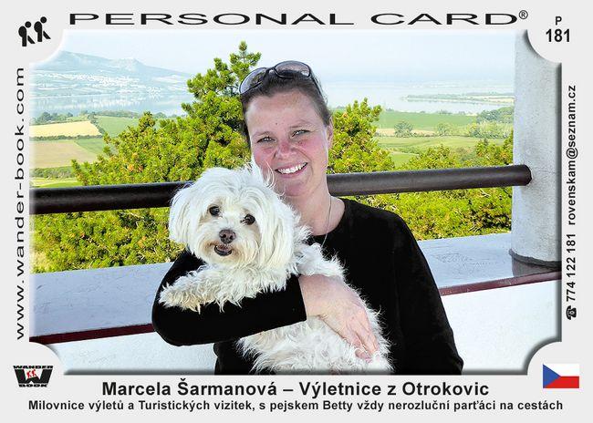 Marcela Šarmanová – Výletnice z Otrokovic