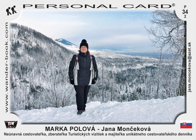Marka Polová - Jana Mončeková