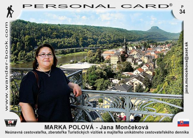 Marka Polová - Jana Mončeková D