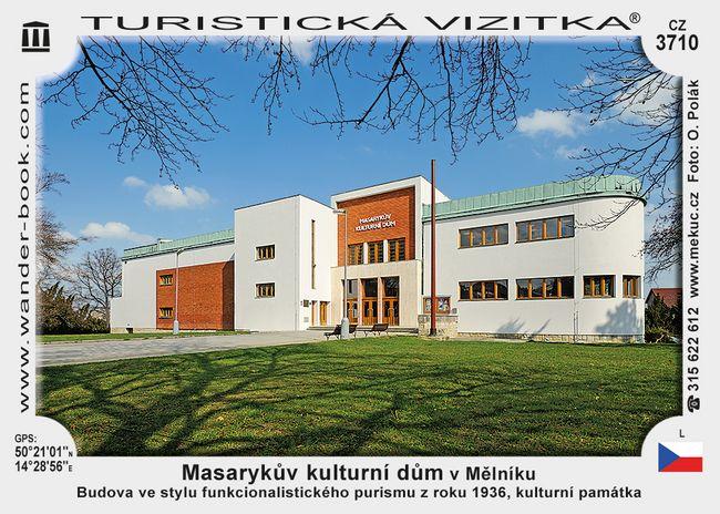 Masarykův kulturní dům v Mělníku