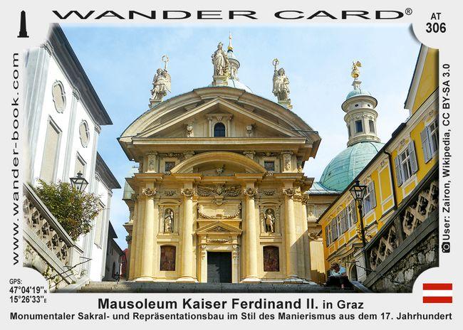 Mausoleum Kaiser Ferdinand II. in Graz