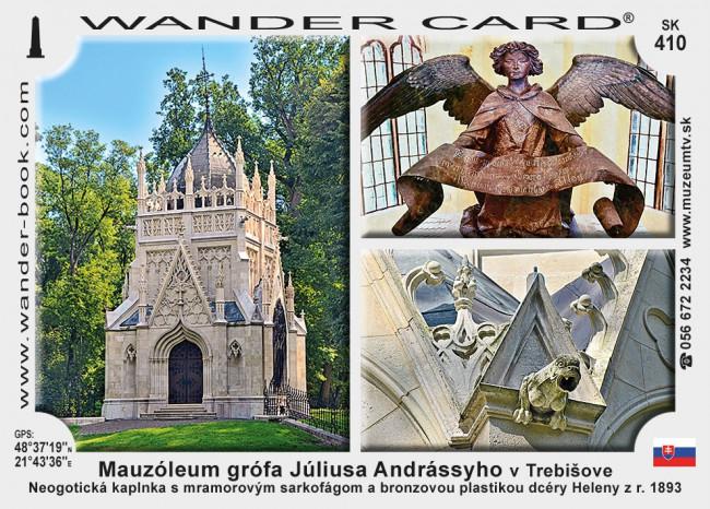 Mauzóleum grófa Júliusa Andrássyho v Trebišove