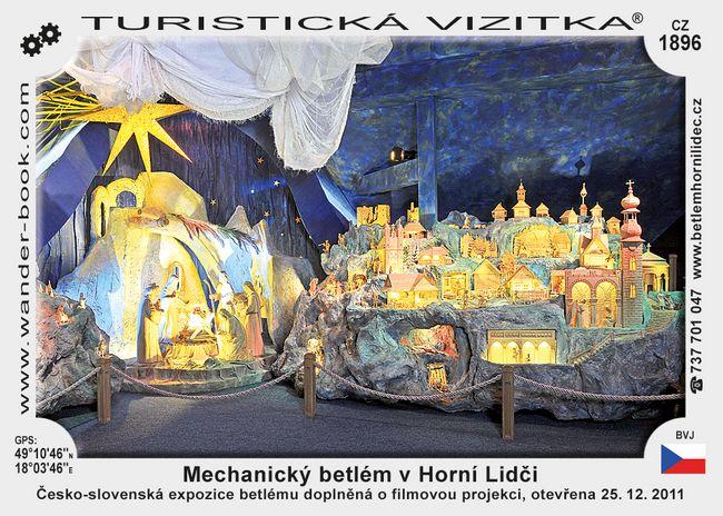 Mechanický betlém v Horní Lidči