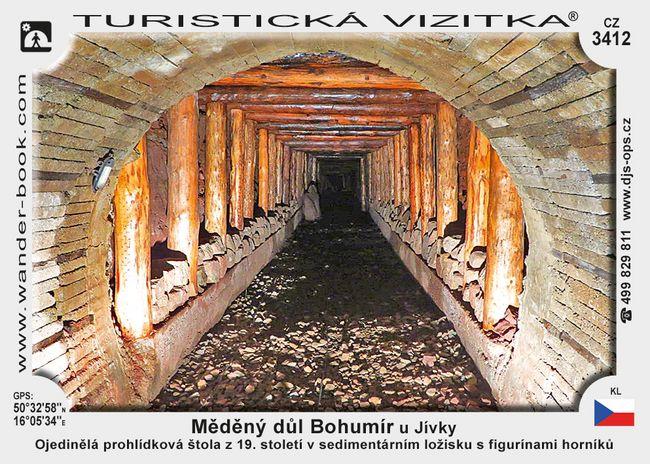 Měděný důl Bohumír u Jívky