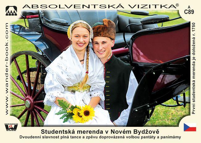 Studentská merenda v Novém Bydžově
