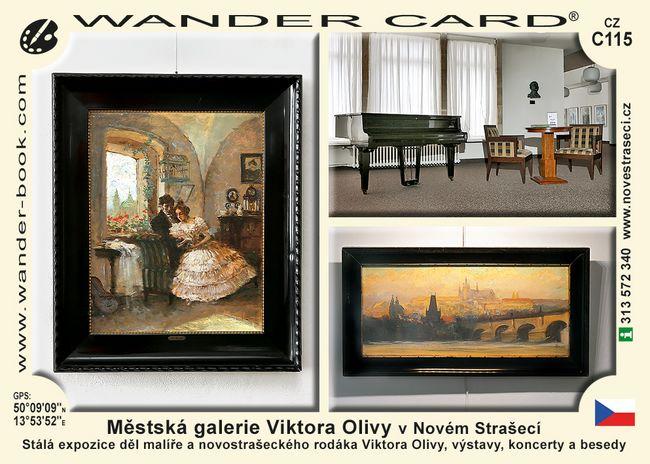 Městská galerie Viktora Olivy v Novém Strašecí