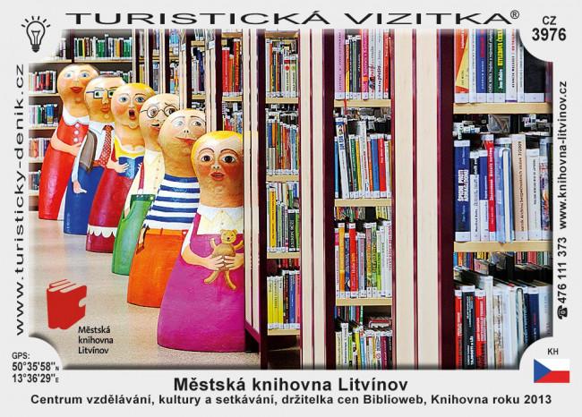 Městská knihovna Litvínov