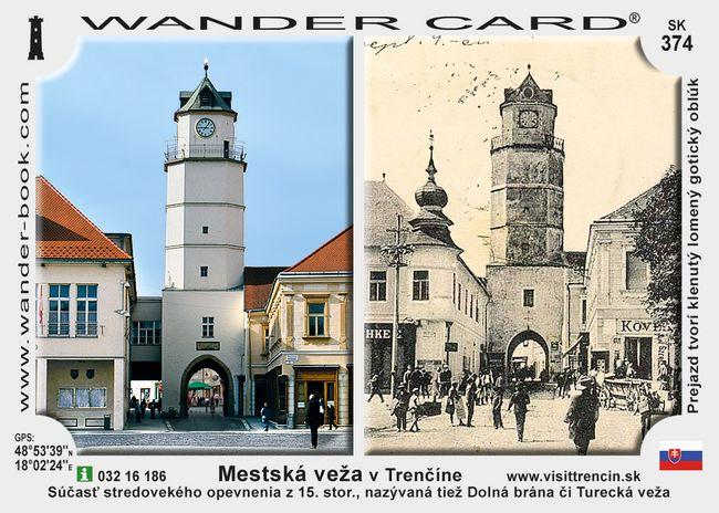 Mestská veža v Trenčíne