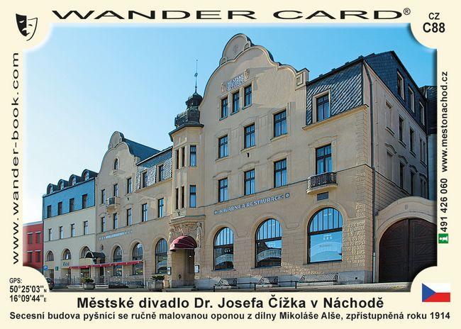 Městské divadlo Dr. Josefa Čížka v Náchodě