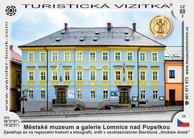 Městské muzeum a galerie Lomnice nad Popelkou