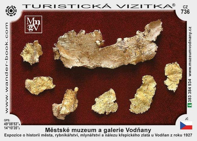 Městské muzeum a galerie Vodňany