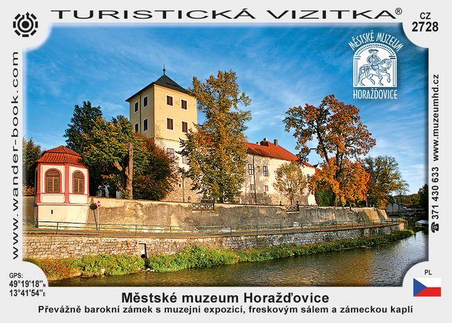 Městské muzeum Horažďovice
