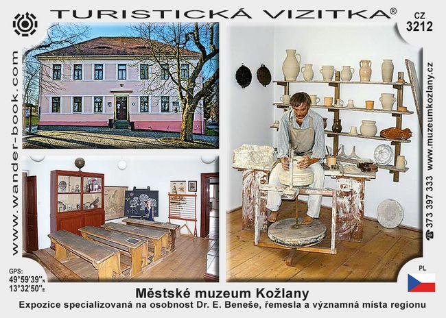 Městské muzeum Kožlany