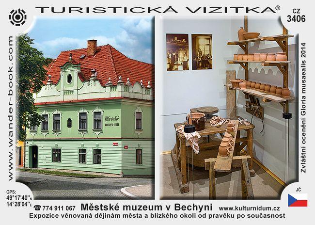 Městské muzeum v Bechyni