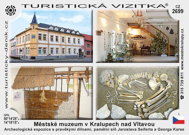 Městské muzeum v Kralupech n. Vltavou