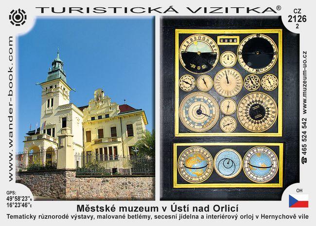 Městské muzeum v Ústí nad Orlicí