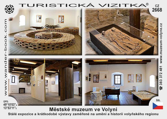 Městské muzeum ve Volyni
