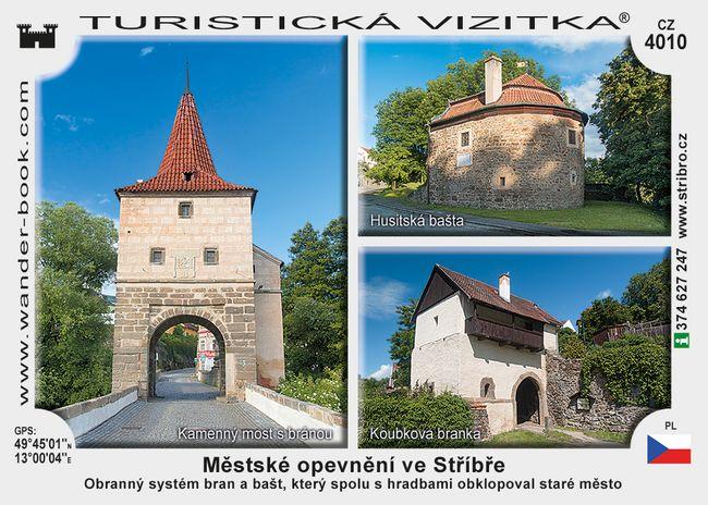 Městské opevnění ve Stříbře