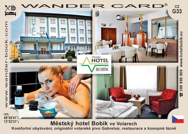 Městský hotel Bobík ve Volarech