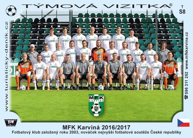 MFK Karviná 2016/2017