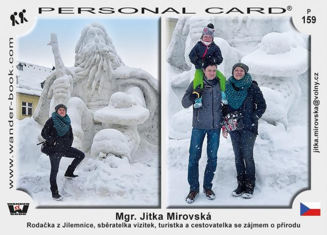 Mgr. Jitka Mirovská