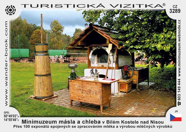 Minimuz. másla a chleba v B. Kostele n. N.