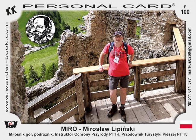 MIRO - Mirosław Lipiński