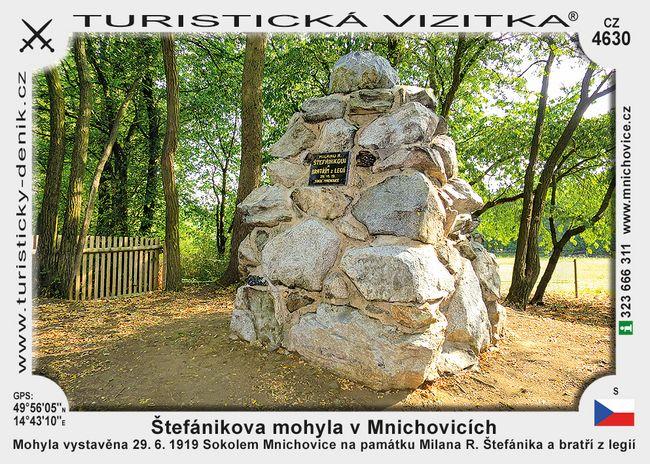 Mnichovice Štefánikova mohyla