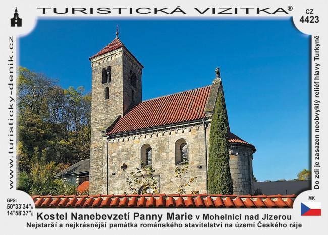 Kostel Nanebevzetí Panny Marie v Mohelnici nad Jizerou
