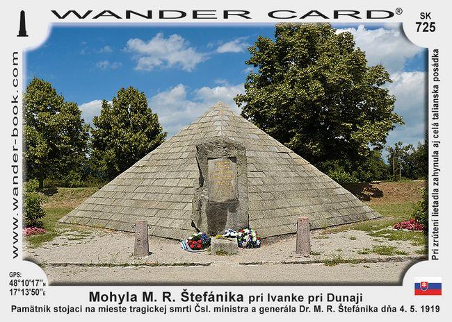 Mohyla M. R. Štefánika pri Ivanke pri Dunaji