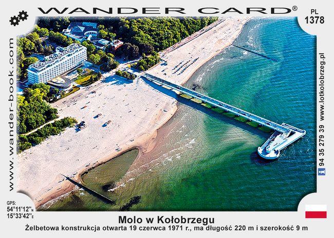 Molo w Kołobrzegu