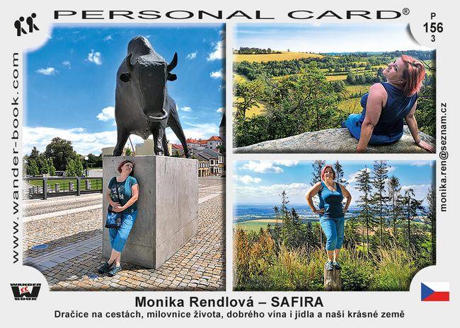 Monika Rendlová – SAFIRA