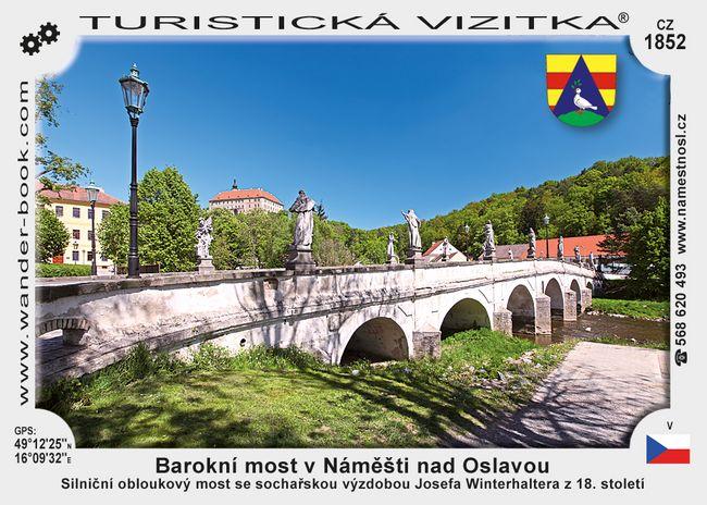 Most v Náměšti nad Oslavou