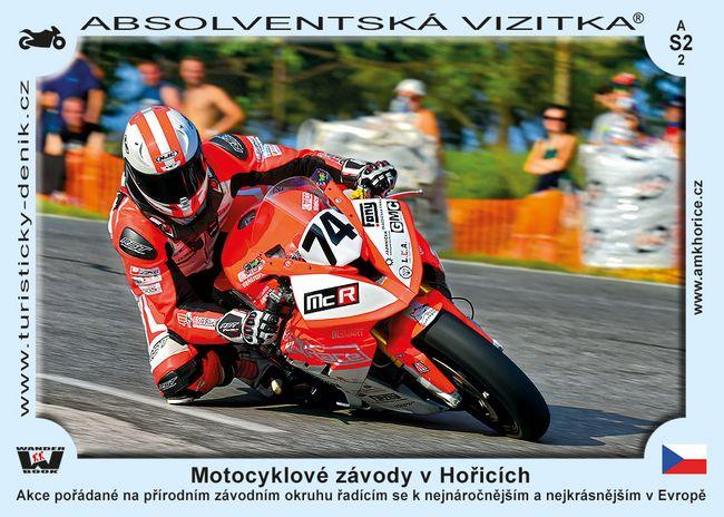 Motocyklové závody v Hořicích