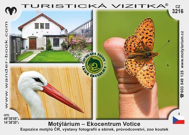 Motýlárium - Ekocentrum Votice