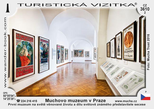 Muchovo muzeum v Praze