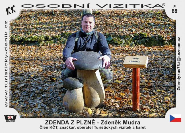 Mudra Zdeněk - ZDENDA Z PLZNĚ