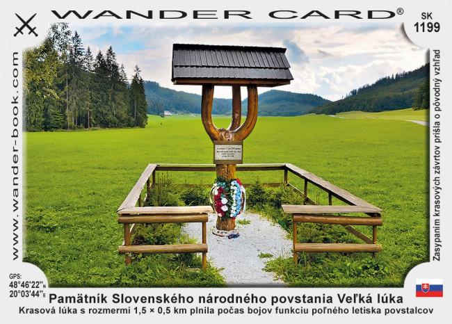 Pamätník Slovenského národného povstania Veľká lúka