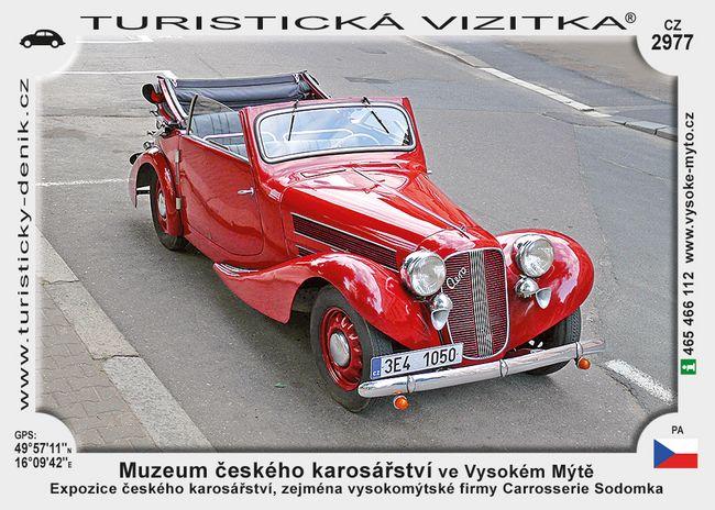 Muz. čes. karosářství ve Vysokém Mýtě